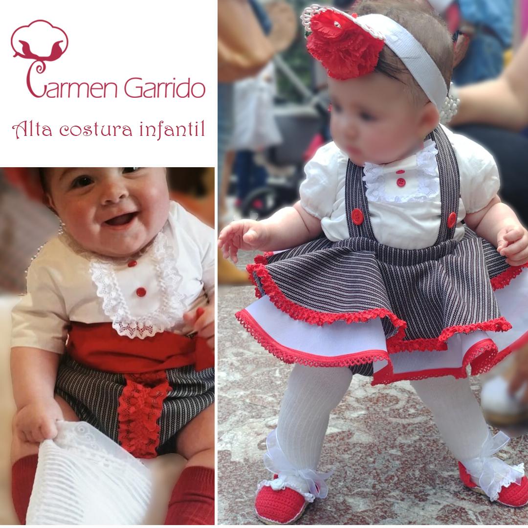 Trajes de flamenca bebé